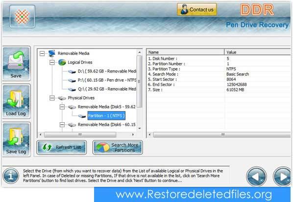 Windows 7 USB Drive Files Restore 5.3.1.2 full